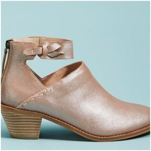 Anthropologie Kelsi Dagger Brooklyn Booties 9 New